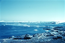 Another view from Avian Island - SHACKLETON in the distance.67 46 S Latitude 68 54 W Longitude.