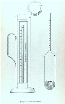 Hilgard's Ocean Salinometer.In: Report on the Construction and Outfit of the United States Fish CommissionSteamer ALBATROSS, by Lieutenant-Commander Z. L. Tanner, U. S. N.  UnitedStates Commission of Fish and Fisheries.  Part XI.  Report of the Commi