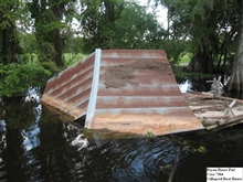 Collapsed Boat House