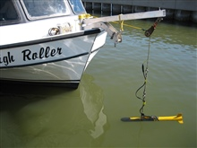 Side Scan Sonar array for shallow water surveys.