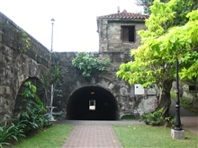 The inner fort of the Intramuros of Manila.