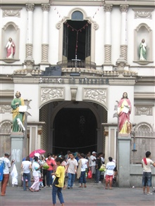 Quiapo Church and Square.