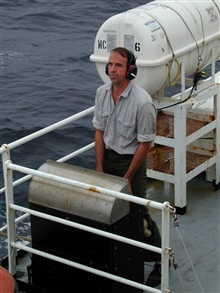 Operations on the NOAA Ship McARTHUR during Stenella abundance cruises.
