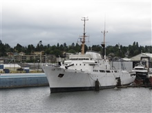Former NOAA Ship DISCOVERER rechristened the SAHARA.