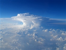 Amazing beauty from the air.  Clouds from airplane: Route Memphis to  DFW, Texas.