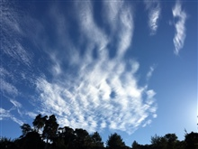 Cirrus over Cambria