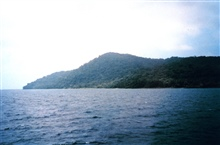 A view of Isla Cocos.