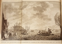 The great storm that decimated Holland on November 15, 1775.In: Bespiegeling over Neerlandsch Waternood by J. H. Hering.1776.Call no. GB1399.5.N4 H4 1776.