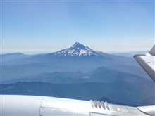 Mount Hood as seen from NOAA King Air (BC300 CER) N68RF.