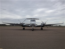 NOAA King Air (BC300 CER) N68RF on the ground at Tampa.