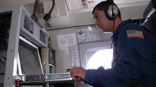 Flight Meteorologist Ian Sears on the NOAA Gulfstream IV