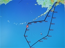 Track of NOAA Gulfstream IV at Dropsonde site 7 during Winter StormsReconnaissance mission over the North Pacific Ocean.