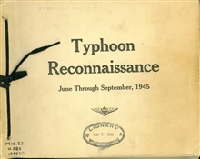 A record of typhoon reconnaissance in the western tropical Pacific in the months June through September, 1945.