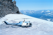 Bell UH-1M supporting petrologic studies by University of Alaska for OCSEAP.