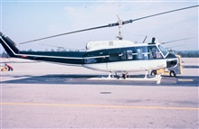 NOAA N58RF helicopter on ground.