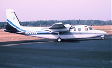 NOAA Rockwell International 500-S Shrike Commander.