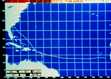 Track of Hurricane Hugo