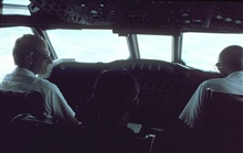 Pilot and co-pilot during mission.