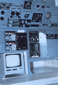 Navigator station on P-3.