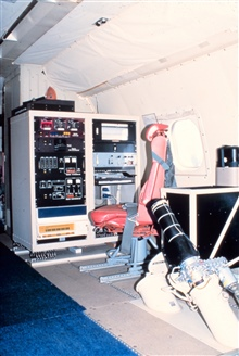 Dropwindsonde station and airborne expendable bathythermograph station on P-3.