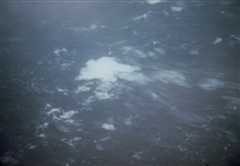 Sea surface as observed from 1500 feet in Typhoon Kerry.