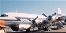 Weather Bureau DC-6 N6540C on the ground