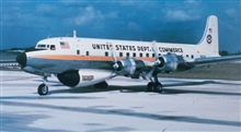 Weather Bureau DC-6 N6540C with ESSA designator.