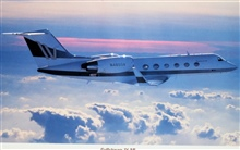NOAA Gulfstream IV N49RF used for atmospheric research.