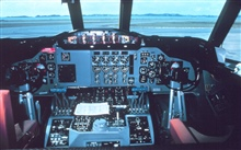 Instrument panel for P-3 aircraft.