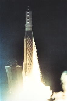 Launch of NOAA satellite