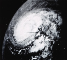 Hurricane Beulah as photographed from TIROS VII