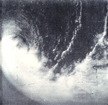 TIROS I image of tropical storm located north of New Zealand.  This is the firsttropical storm captured by a meteorological satellite camera.  Monthly WeatherReview, March 1960, p. 85.