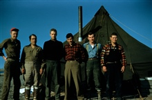 Launch 15 crew - Stan Jeffers, Abe Simmons, Harley Nygren, Jerry Gray,Ted Shanahan, and Harry Lantzy