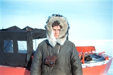 Harley Nygren dressed in the latest Arctic style