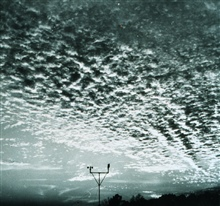 Altocumulus adding to the beauty of a glorious sunset