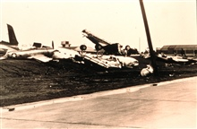 Airplanes thrown about like toys by tornadoTornado of March 20, 1948 at Tinker Air Force Base, Oklahoma