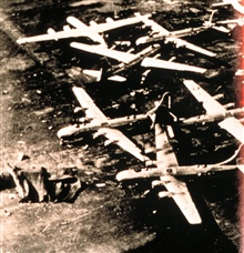 Military air transport command airplane destroyed by tornadoTornado of March 20, 1948 at Tinker Air Force Base, Oklahoma