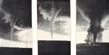 One of many tornadoes in the vicinity of Gothenburg, Nebraska.In:  Monthly Weather Review, June 1931, p. 228.