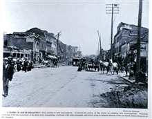 A Scene on South Broadway.In: Photographic Views of the Great Cyclone at St. Louis, May 27, 1896.Library Call Number M15.1 P575.