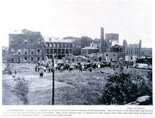 City Hospital.In: Photographic Views of the Great Cyclone at St. Louis, May 27, 1896.Library Call Number M15.1 P575.