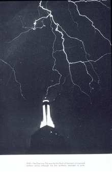 Lightning striking the Empire State Building.  From A Triumph of ThunderstormPhotography