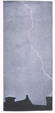 Figure 15.  Rapid Flash.  In:  Protection from Lightning, by Alexander McAdie.Weather Bureau Circular of Information, published in 1894.Library Call Number TH 9057.M3 1894.