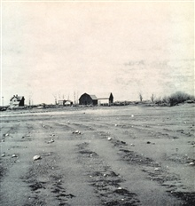 Caption:  A Blown-Out Field in South Dakota.  A farm blown away during theDust Bowl years.  In: To Hold This Soil, Russell Lord, 1938.Miscellaneous Publication No. 321,  U.S. Department of Agriculture.