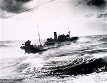 World War II North Atlantic convoy duty - S.S. COULMORE