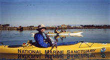 Kayaking in Elkhorn Slough National Estuarine Research Reserve.