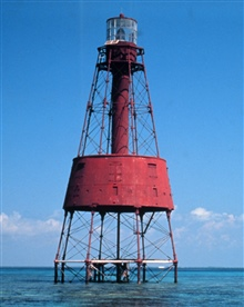 Carysfort Reef Lighthouse.