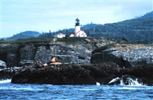 Tatoosh Lighthouse from offshore.