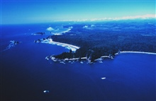 Aerial view of Teahwhit Head and James Island