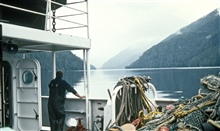 Working in the Inside Passage.