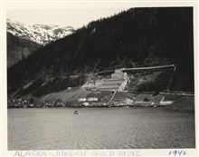 Gold mine at Juneau